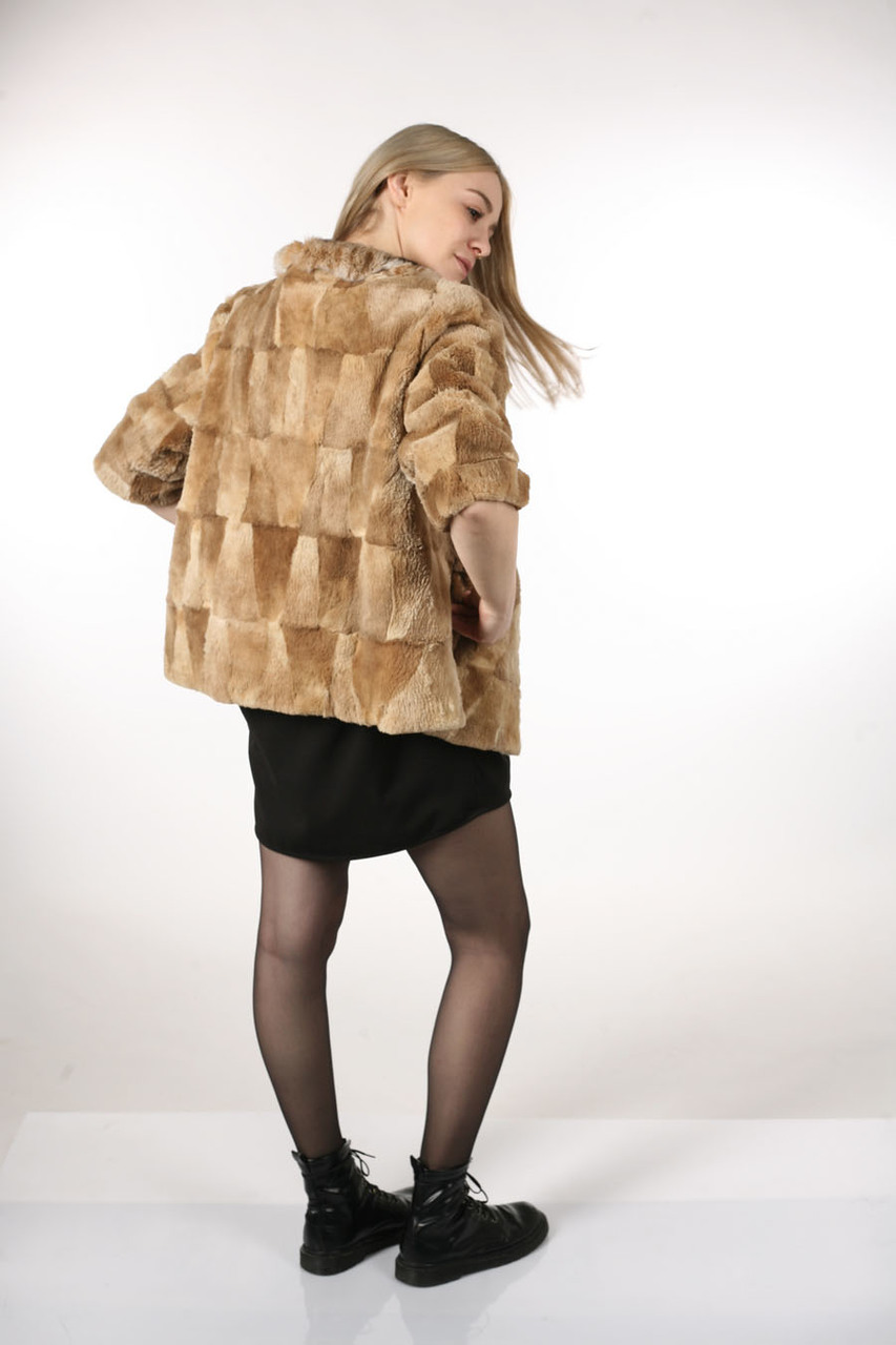 Fur coats from cropped beaver: models, tips on choosing. How to clean a fur coat from a short-haired beaver 22