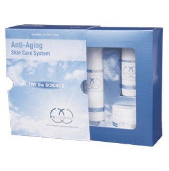 Rx Systems Anti Aging Skin Care System Normal To Oily