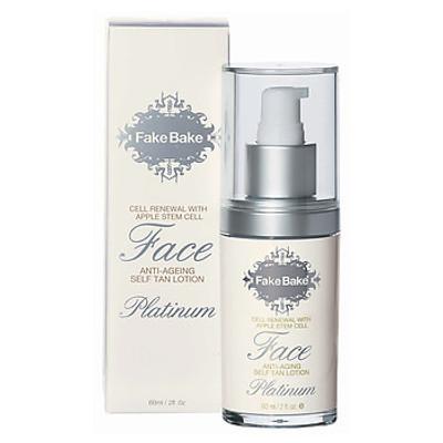 Fake Bake Platinum Face Anti Aging Self Tan Lotion