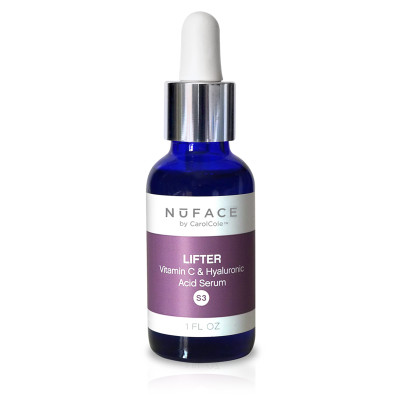 NuFACE Lifter Vitamin C & Hyaluronic Acid Serum 1 oz