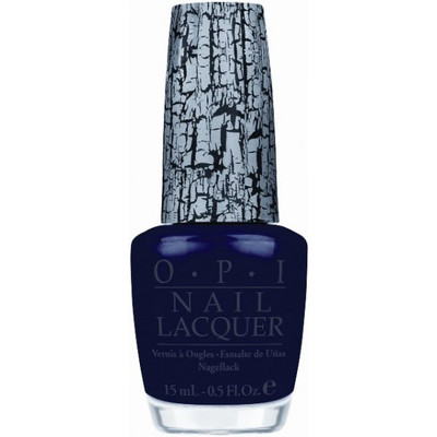 OPI Nail Polish Navy Blue Shatter .5 oz
