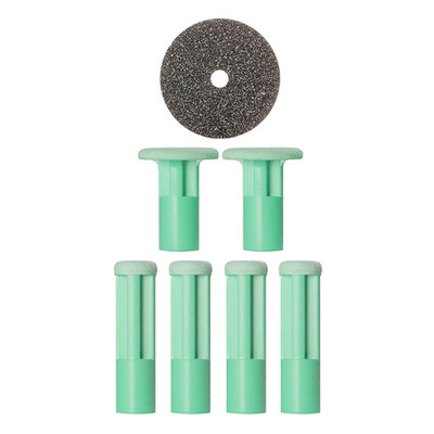 PMD Replacement Discs Green Moderate - 6 ct