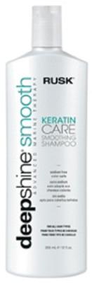 Rusk Deepshine Keratin Care Smoothing Shampoo 12 oz