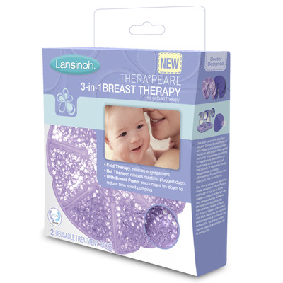 TheraPearl Nursing Buddies 3-in-1 Breast Therapy