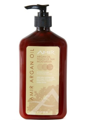 Amir Argan Oil Touch of Tan Moisturizer