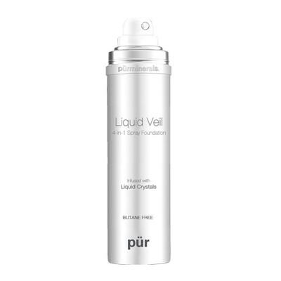 Pur Minerals Liquid Veil 4-in-1 Spray Foundation 2 oz