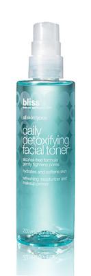 bliss daily detoxifying facial toner 6.7 oz