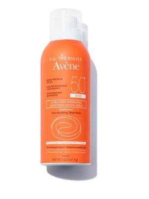 Avene Ultra-Light Hydrating Sunscreen Lotion Spray SPF 50+