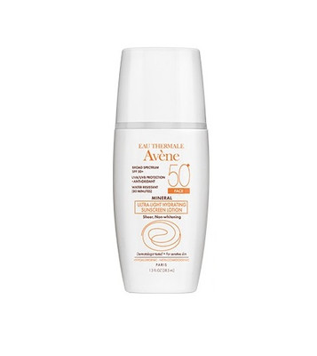 Avene MINERAL Ultra-Light Hydrating Sunscreen Face Lotion SPF 50+