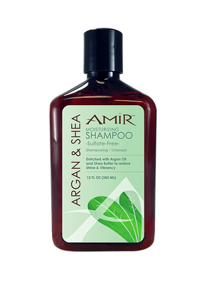 Amir Argan and Shea Moisturizing Shampoo