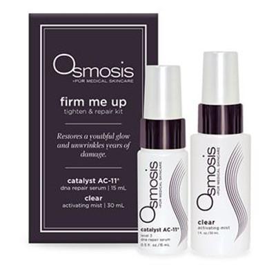 Osmosis Skincare Basic Care Travel Kit Noyah All-Natural Cherry Lip Balm, 0.15 oz