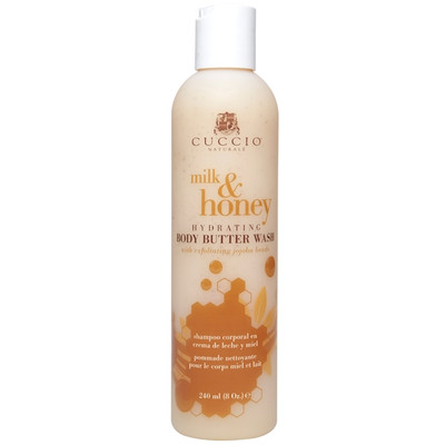 Cuccio Naturale Milk & Honey Body Butter Wash 8 oz