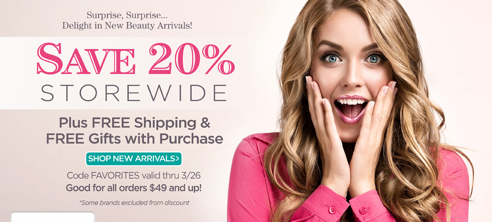 Save on New Arrivals!