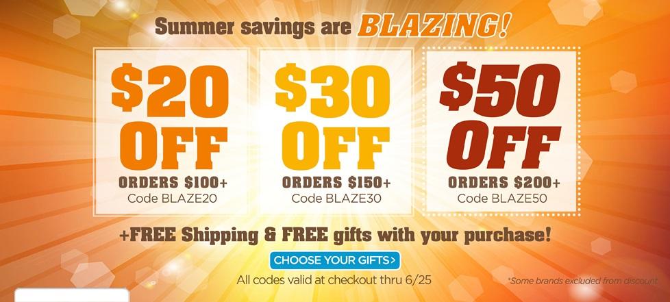 Blazing Savings!