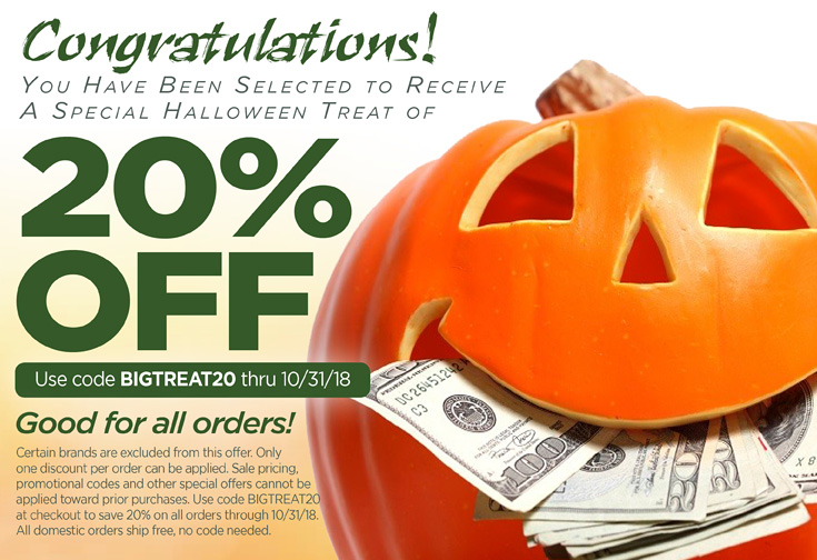 Spooky Savings Are Here!