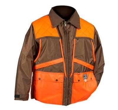 Dan's Game Coat (Brown & Orange) 3XL