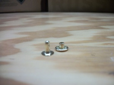 """7/16"""" Nickel Rivets (1000 ct use with cap)"""