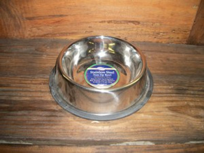 Non-Tip Stainless Steel 1qt. Bowl