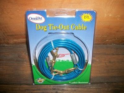 15' Cable Tie Out Kit
