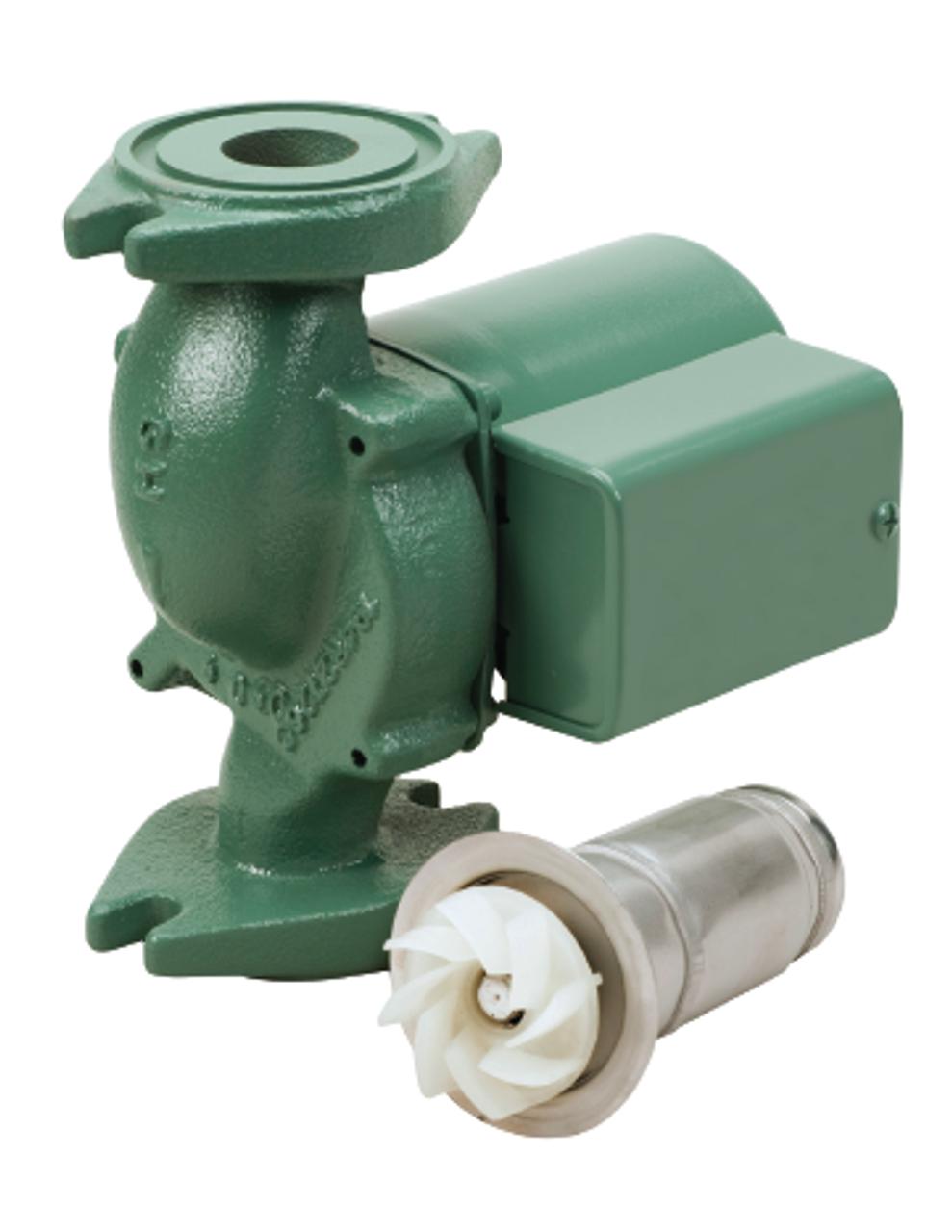 007F55    Taco    Cast Iron    Circulator    With 125 HP   National Pump Supply