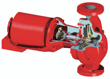 172744LF Bell Gossett 611T Series 60 Pump With 3/4 HP Motor