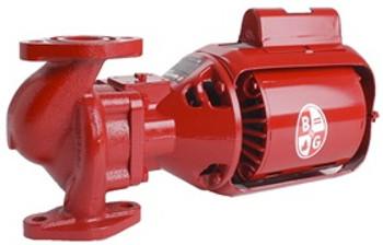 172750LF Bell & Gossett 614T Series 60 Pump With 1 HP Motor