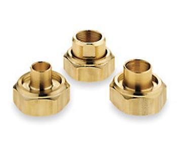 "113201LF - Bell & Gossett 3/4"" Bronze Sweat UC-3/4S Flange For NBF Bronze Booster Pumps"
