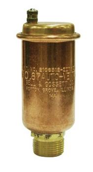 113021 Bell & Gossett Automatic Air Vent Model 87