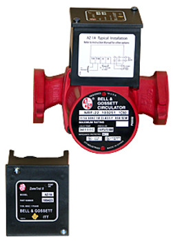 Bell & Gossett ZoneTrol II AZ-1A Snap On Pump Relay