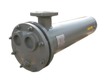 WU124-4 Bell & Gossett Shell & Tube Heat Exchanger