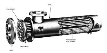 WU127-4 Bell & Gossett Tube Bundle For B&G Heat Exchanger