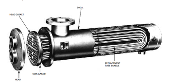 WU128-2 Bell & Gossett Tube Bundle For B&G Heat Exchanger