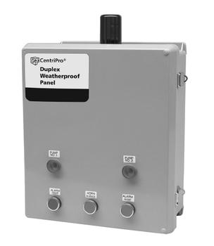 Goulds D34063 SES Duplex Weatherproof Control Panel