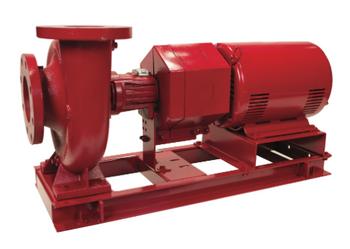 Bell & Gossett e-1510 2AD 5 HP 3550 RPM 3 Phase ODP Pump