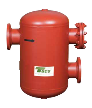 """AC03F-125 Taco Air Separator Tank Type 3"""" Flanged With Strainer"""