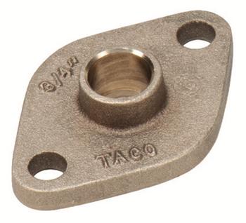 """110-523BSFL Taco Bronze Sweat Pump Flange 3/4"""" SWT"""