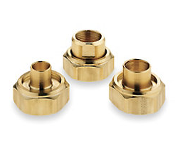 "110-558 Taco Bronze Half Union Set 1/2"" Sweat"