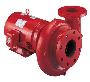Bell & Gossett Series e-1531 Pump Model 1.25AD 1HP Motor