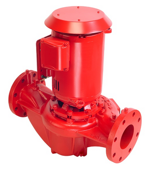 4380 Armstrong 10HP Close Coupled Vertical In-Line Pump 4x4x6