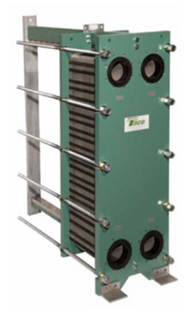 Taco PF205-12-4-NH Plate & Frame Heat Exchanger