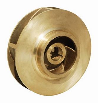 """P85423 Bell & Gossett Bronze Impeller 9-1/2 """" OD 1-1/4"""" Bore"""