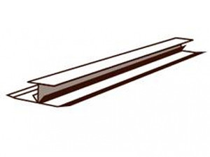 W/tex W/Groove Horizontal Smooth Joiners 3.66m