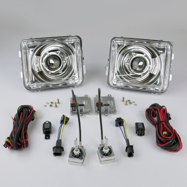 STARR HID XP7002C Bi-Xenon Chrome Projector Headlights Kit 2005 - 2010 Hummer H3