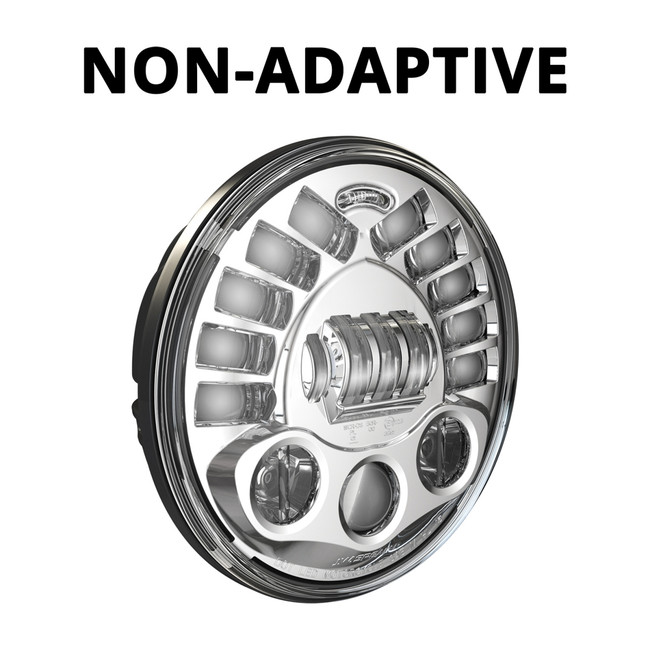 "JW Speaker Model 8791 Non-adaptive 7"" - Chrome"
