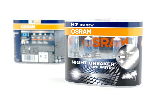 H7 Halogen: Osram Nightbreaker Unlimited