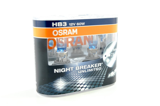 9005 Halogen: Osram Nightbreaker Unlimited