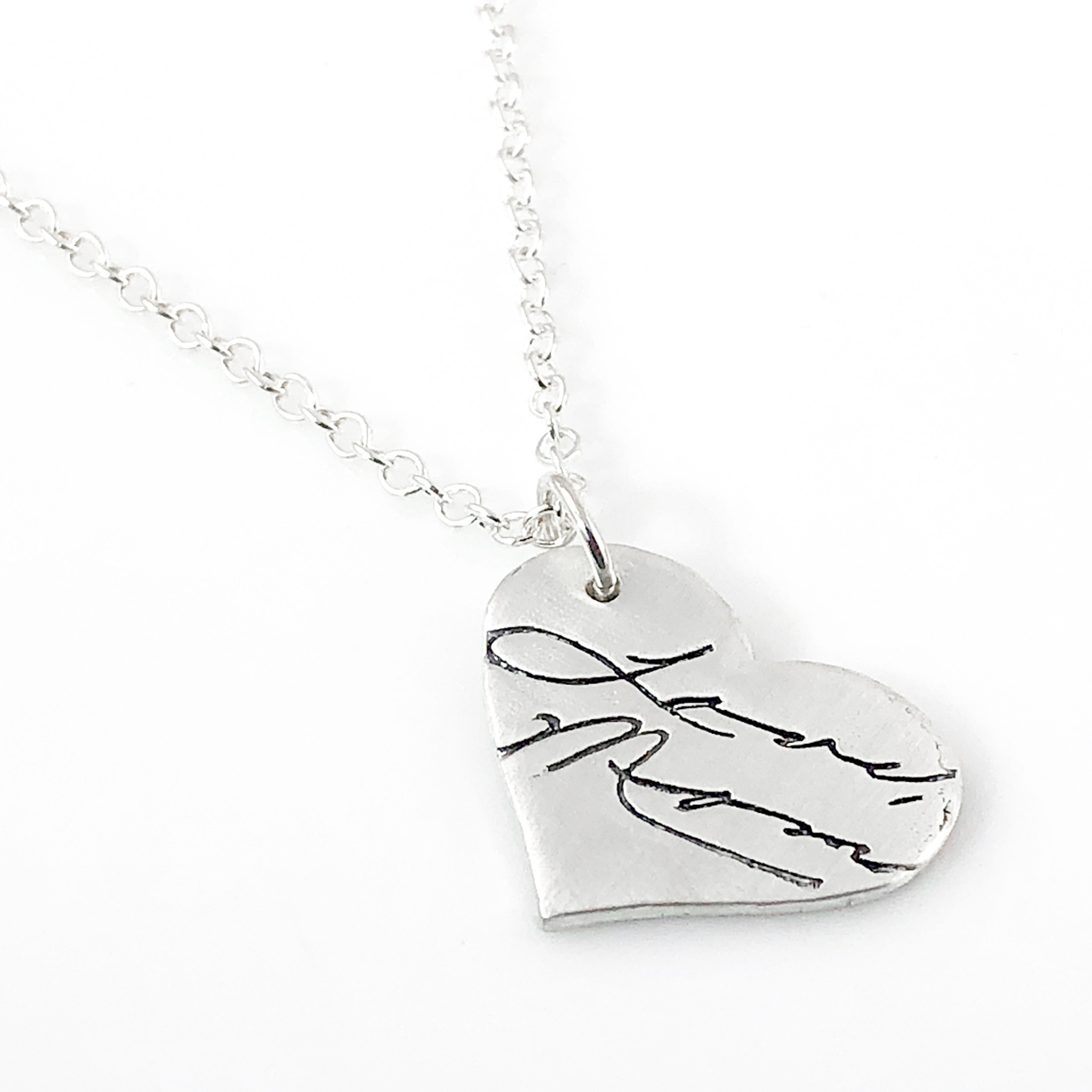 NOW AVAILABLE...jewelry created from actual handwriting or artwork!