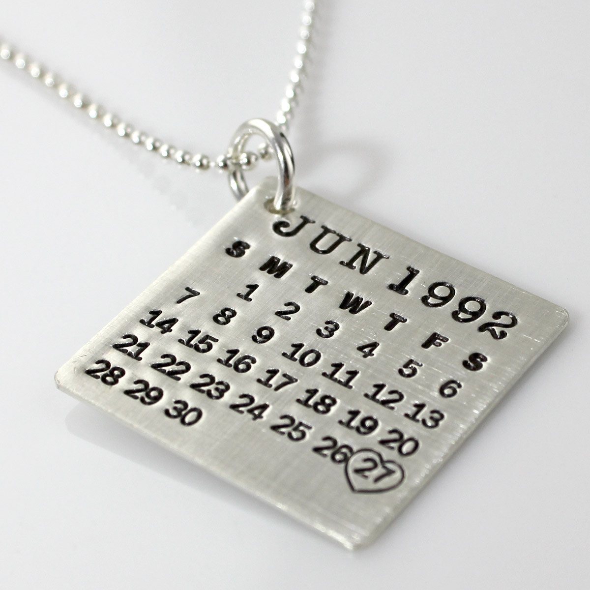 Mark Your Calendar Necklace