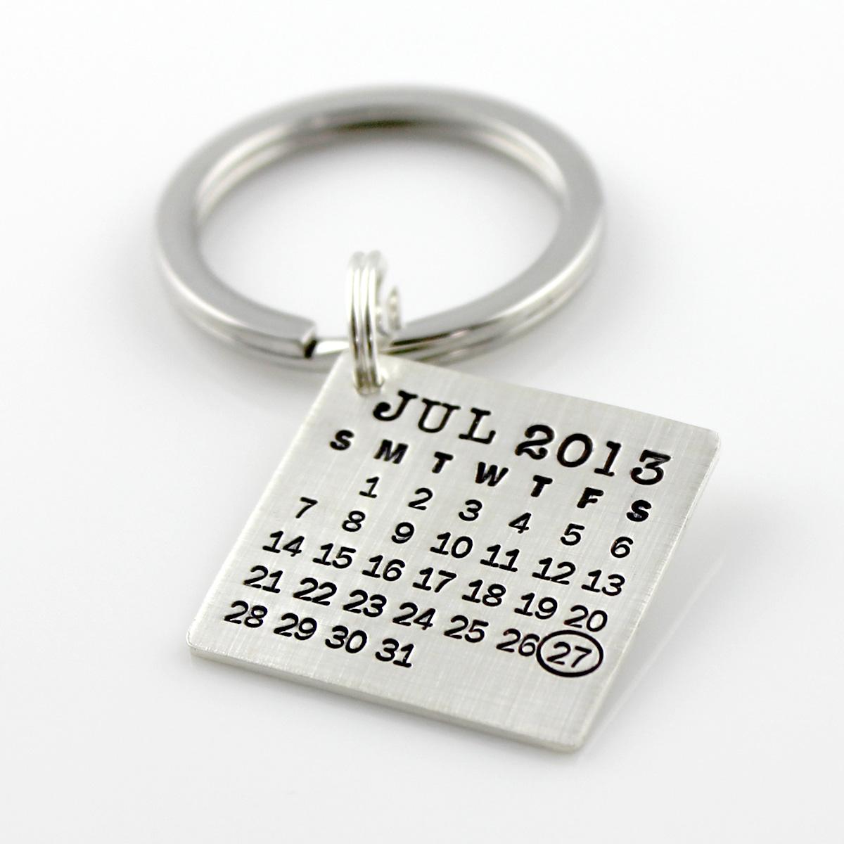 Mark Your Calendar Keychain