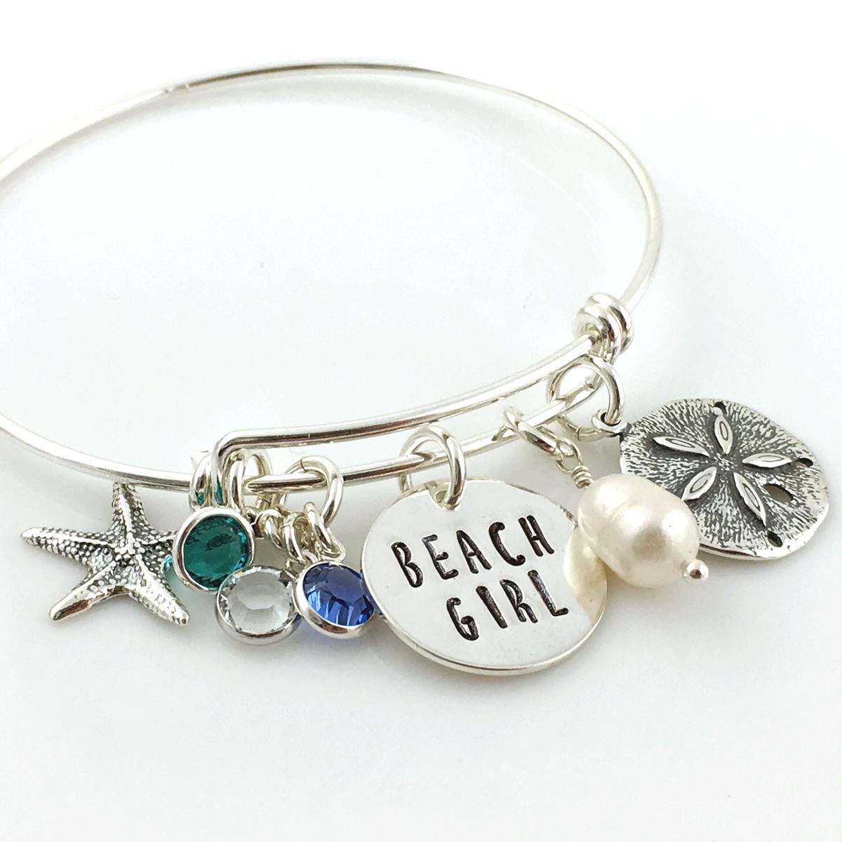 Beach Girl / Beach Life Simply Charming Bangle Bracelet
